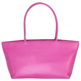 Asia Bag small Nappa pink