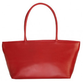 Asia Bag small Nappa red