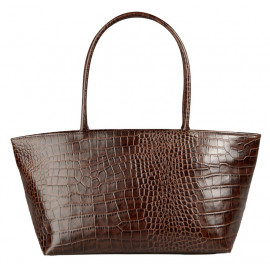 Asia Bag small Mixi Croco brown