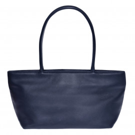 Asia Bag small Nappa navy-blue