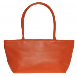 Asia Bag small Nappa orange-pink