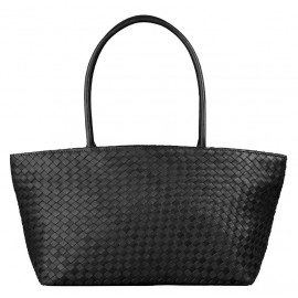 Asia Bag small Nappa Woven black