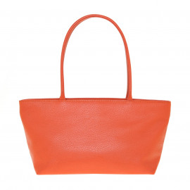 Asia Bag small Fossil orange