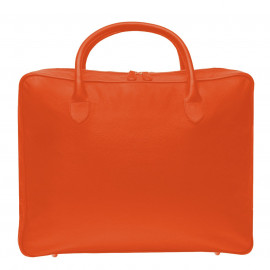 Travel Soft Suitcase Fossil orange