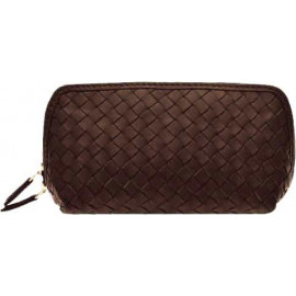 Cosmetic New small Nappa Woven brown